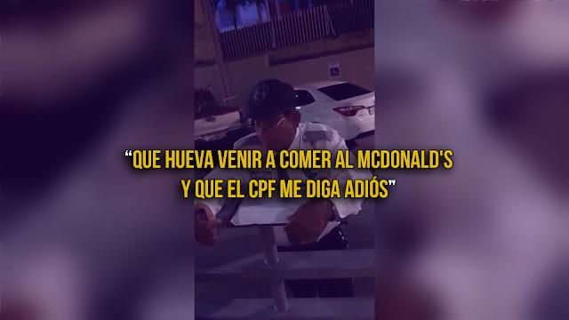 CPF Del McDonald's