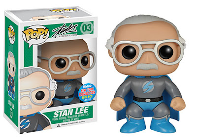 "New York Comic Con 2015 Exclusive ""Superhero"" Stan Lee Pop! Vinyl Figure by Funko"