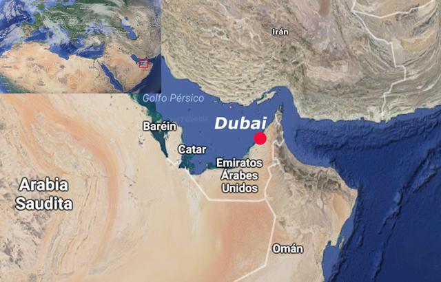 Dubai, en la Península arábiga