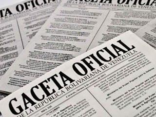 gonzalez haiskel en gaceta oficial 6452 extraordinaria www.soyaduanera.com.ve