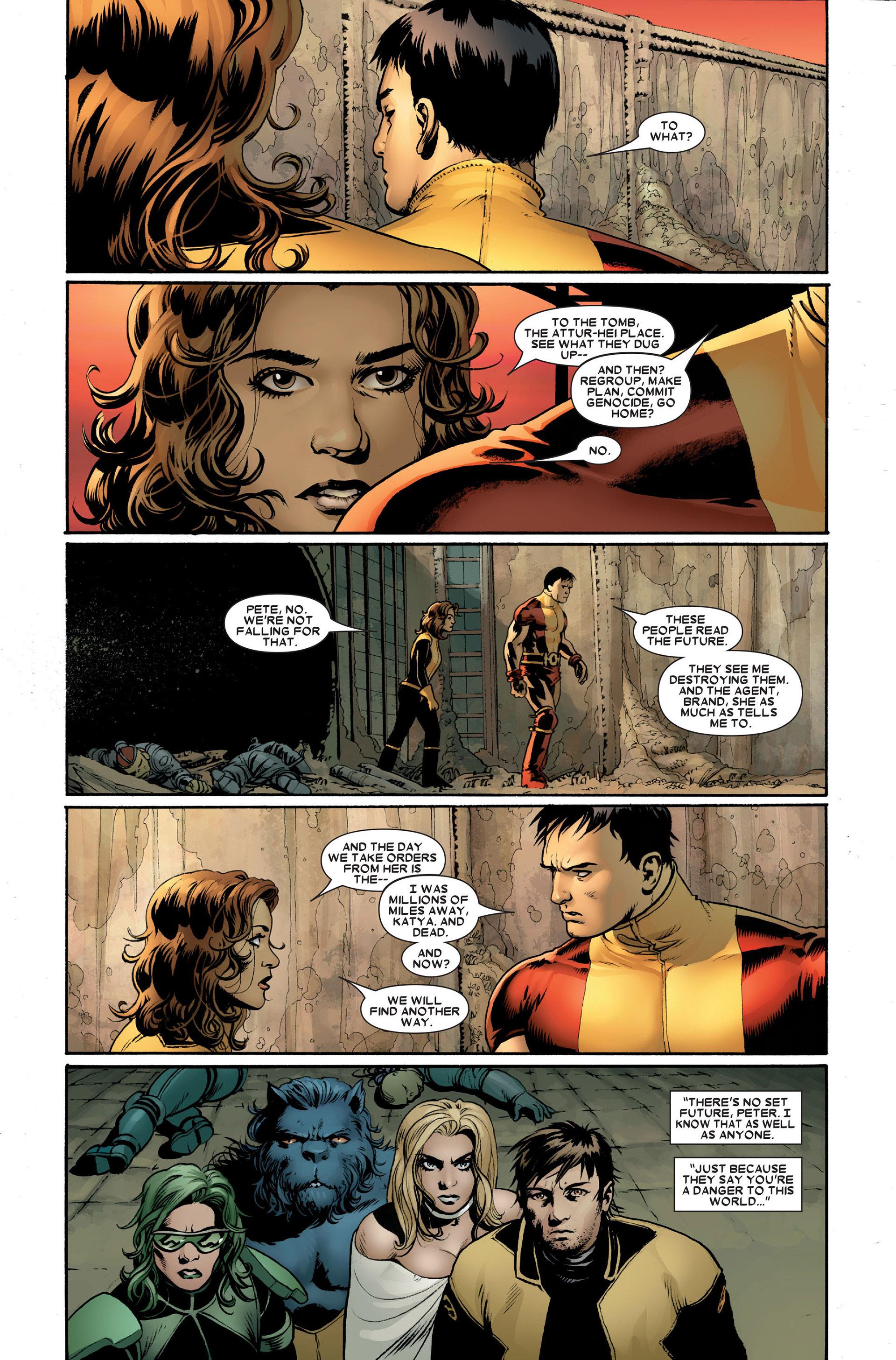 Read online Astonishing X-Men (2004) comic -  Issue #20 - 24