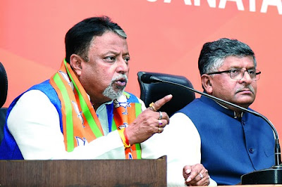 Mukul Roy finally joined the BJP