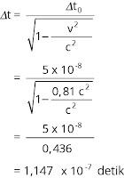 Pembahasan soal relativitas nomor 4