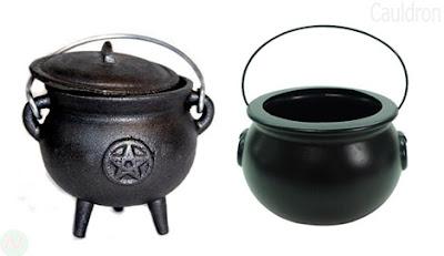 Cauldron utensil