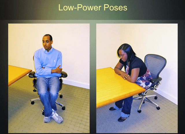 low power pose