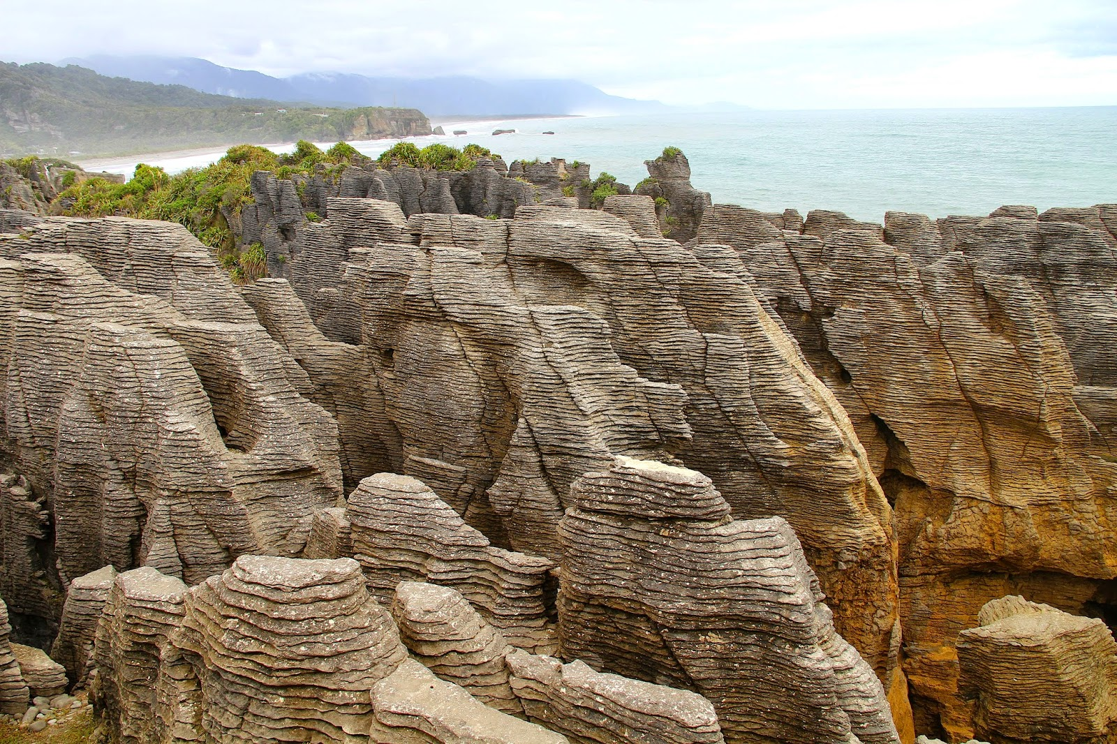 Punakaiki Pancake Rocks New Zealand