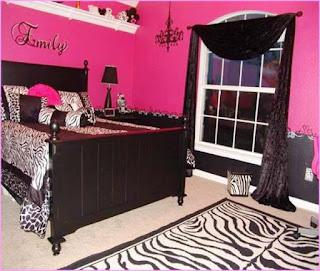 17 desain kamar tidur anak perempuan cat warna pink si