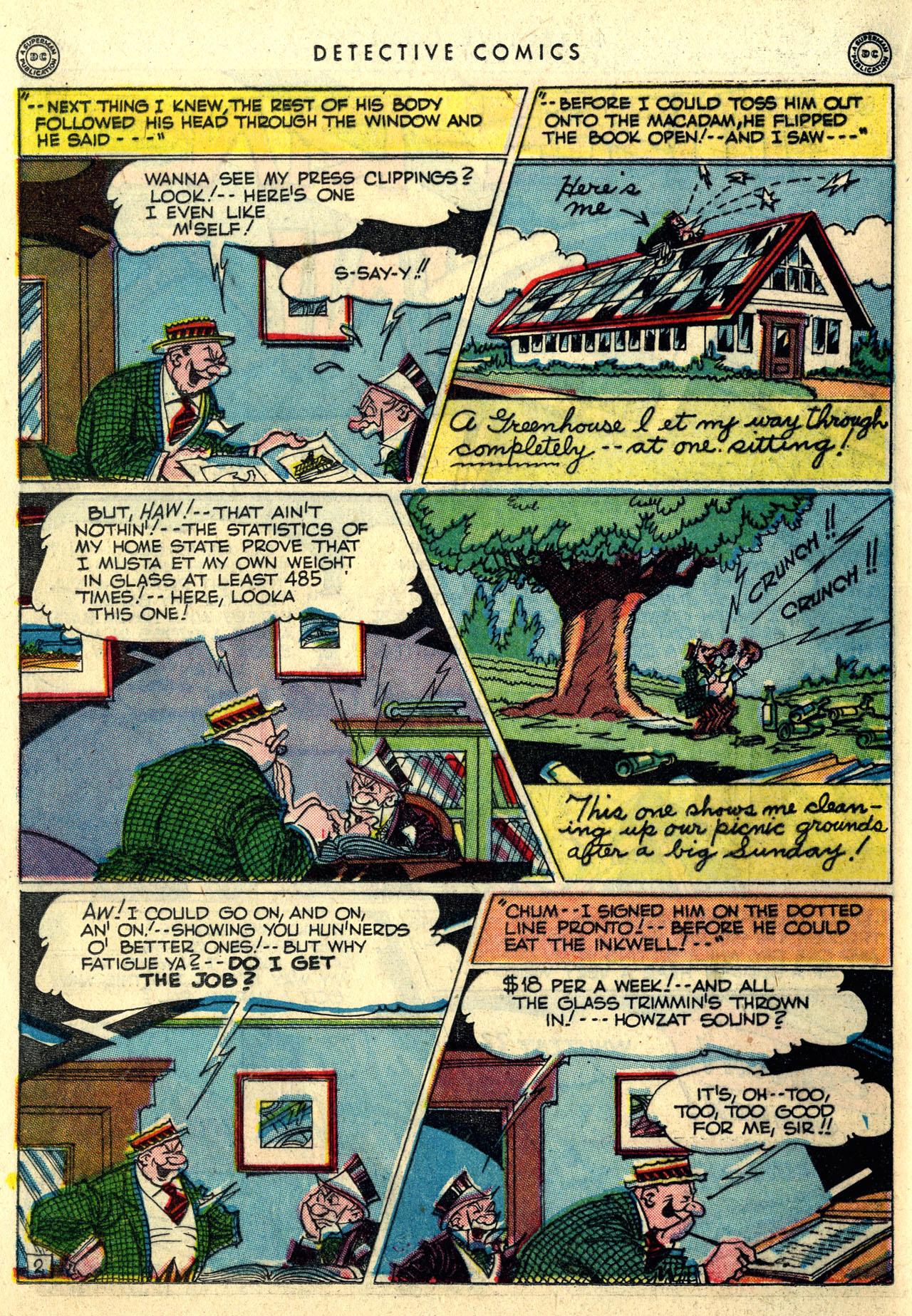Read online Detective Comics (1937) comic -  Issue #121 - 34