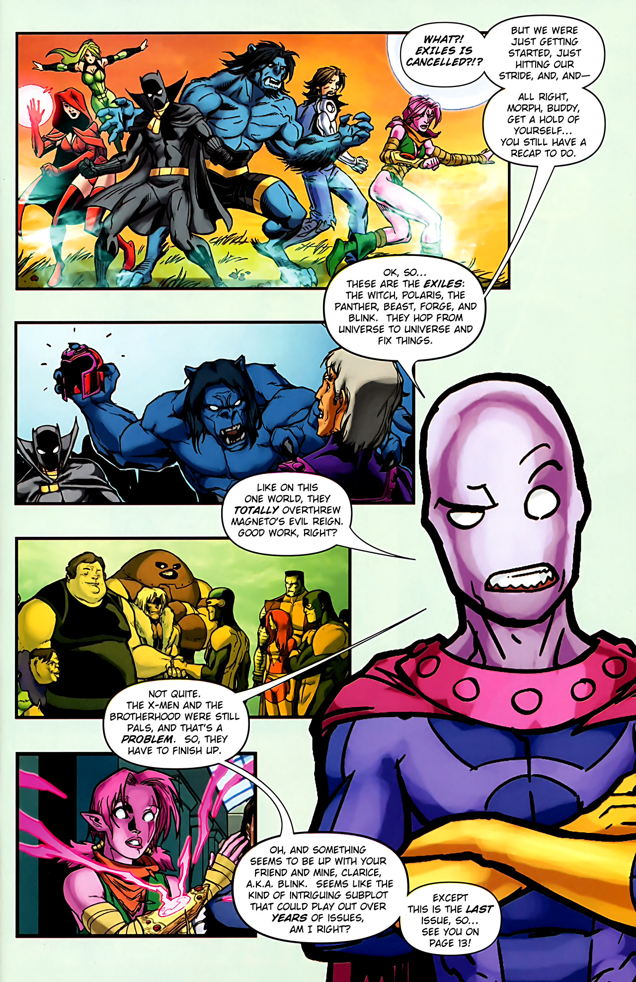 Read online Exiles (2009) comic -  Issue #6 - 2