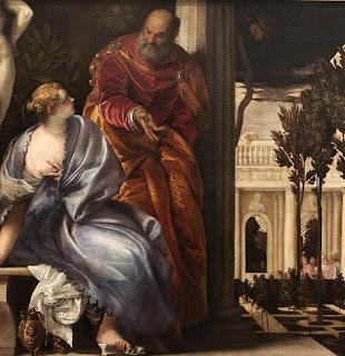 Betsabá em seu Banho - Paolo Veronese