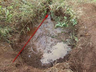 сбор воды в трубу