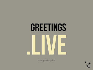 Greetings Live website branding image HD
