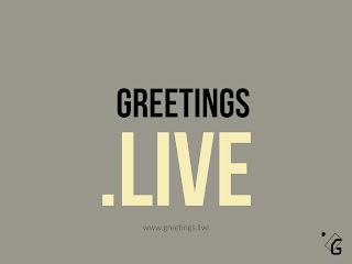 Greetings Live website branding image HD