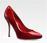 red gucci sophia pump