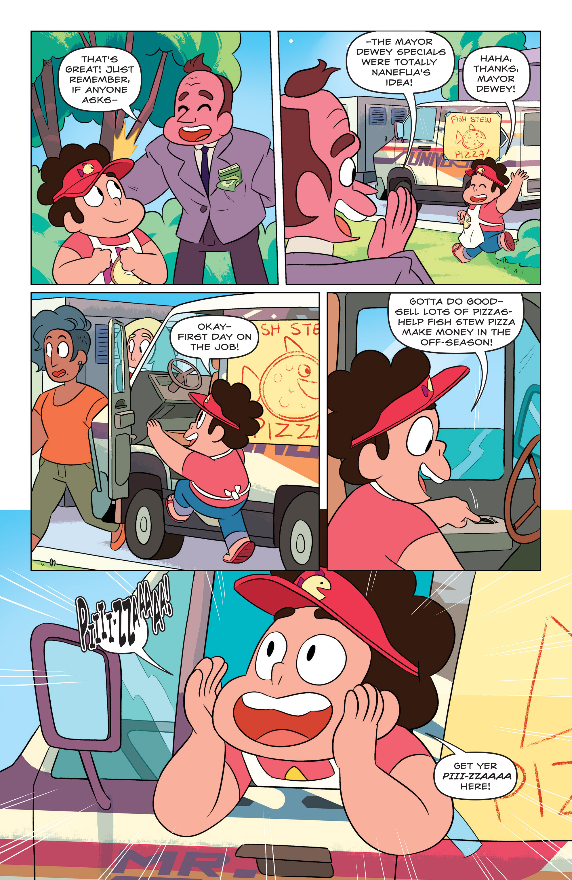 Read online Steven Universe Ongoing comic -  Issue #3 - 10