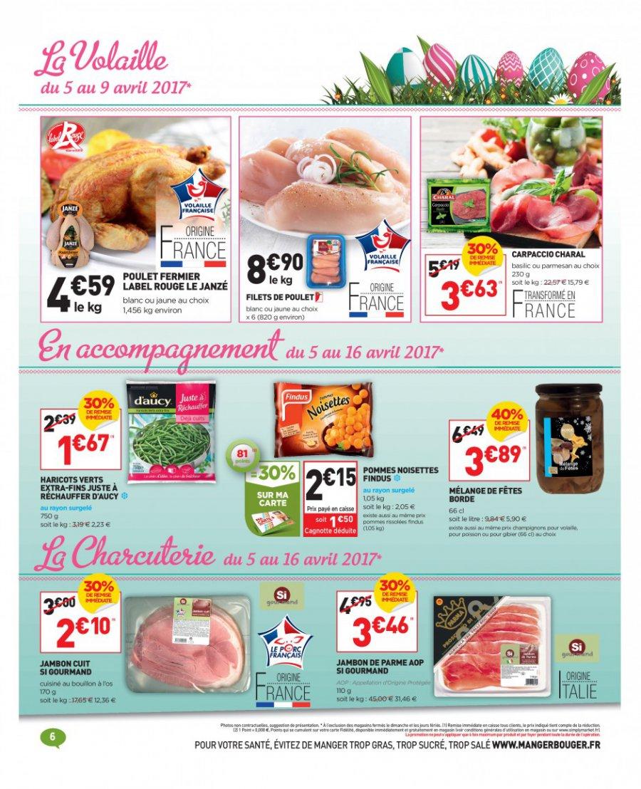 Catalogue simply market 05 au 16 avril 2017 catalogue promo - Www simplymarket fr catalogue ...
