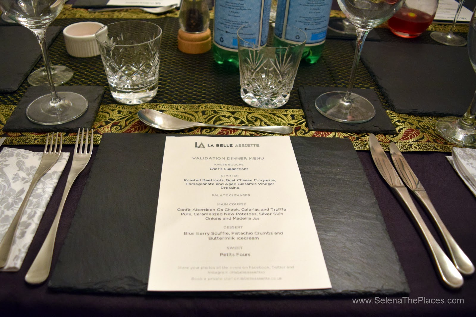 La Belle Assiette Private Chef Dining Experience