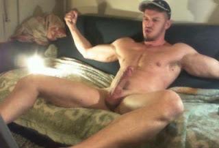 Man Stroking Hard Cock Hot Sexy Men Bate Masturbating Jacking Bate Dick Penis RobotJack Robot Jack