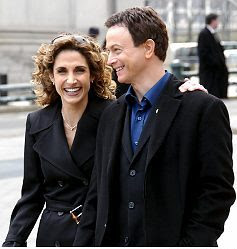 Stella Bonasera e Mac Taylor CSI New York