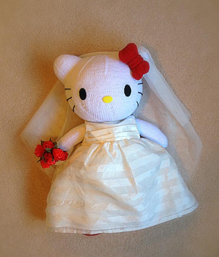 Knitterbees Hello Kitty Plush Toy Pattern