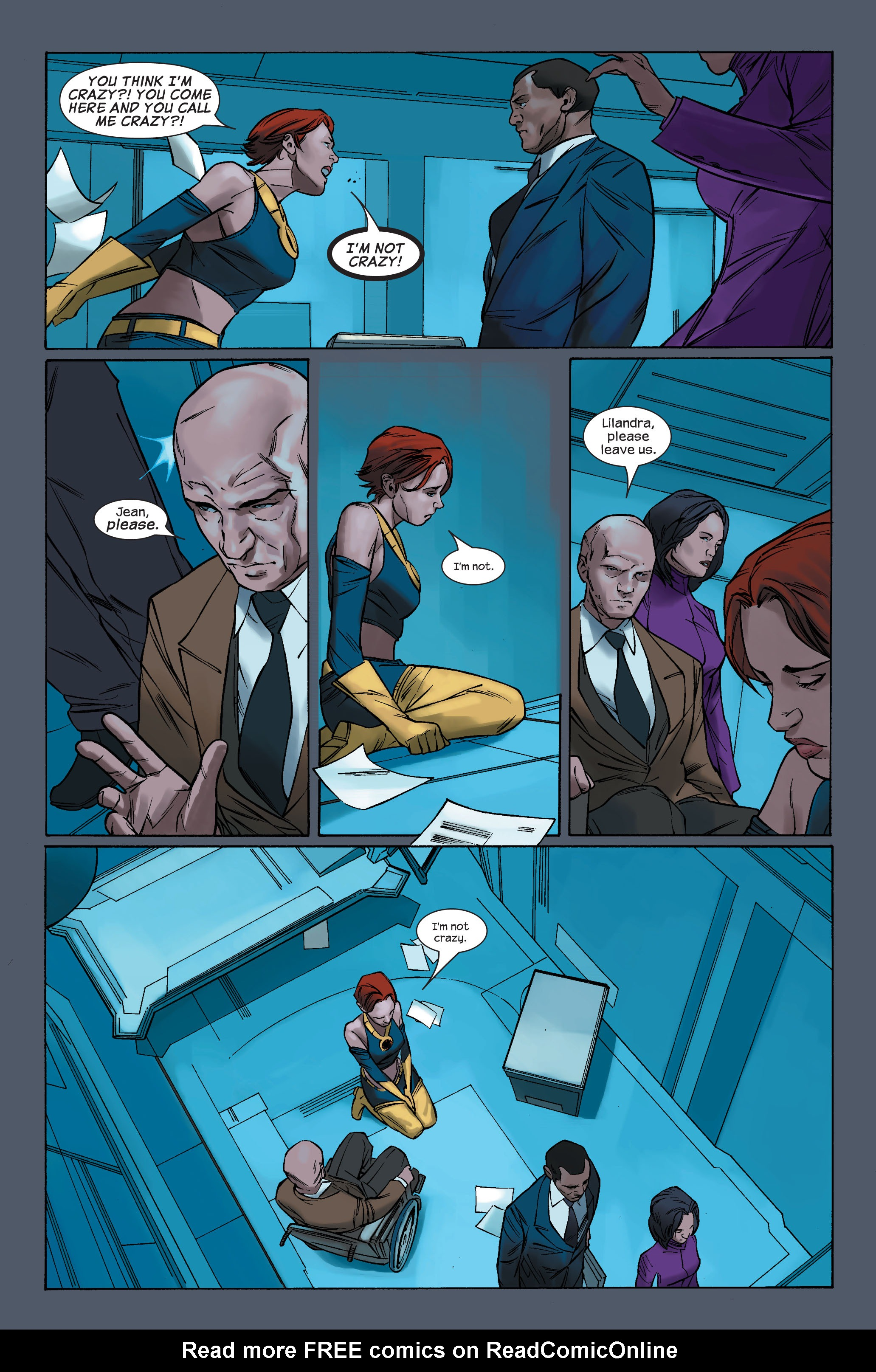 Read online Ultimate X-Men comic -  Issue #71 - 19