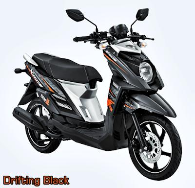 Yamaha X-Ride Terbaru 2015 Hitam Drifting Black