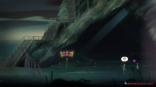 Oxenfree Gameplay Screenshot 2