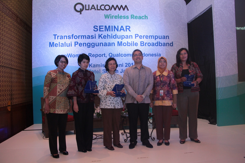 Qualcomm : 91% Wanita Indonesia Bergantung Pada Ponsel Untuk Kerja