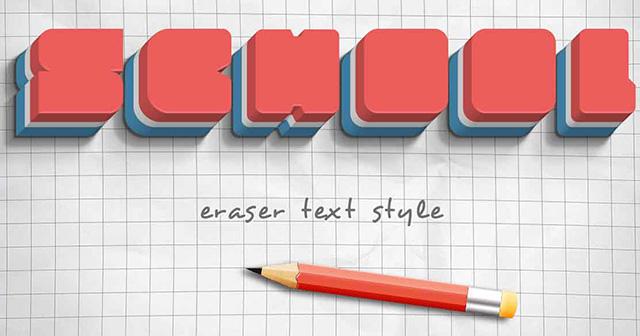 Eraser-Text-Style