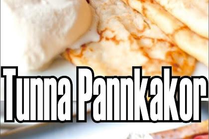 """Sweden's pancake """"Tunna Pannkakor"""""""