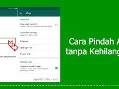 Cara Pindah Akun WhatsApp ke Hp Baru tanpa Hilang Kontak dan Chat