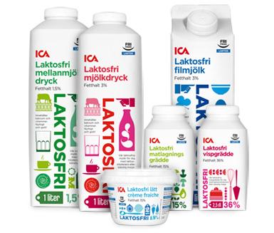 Vad kostar mjölk på ica
