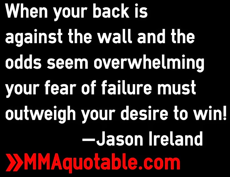 Motivational Quotes With Pictures Many Mma Ufc When Your Back