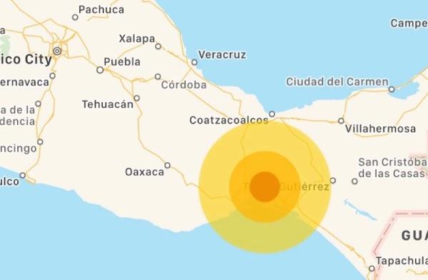 Sacude nuevo sismo de magnitud 5.5 a Oaxaca