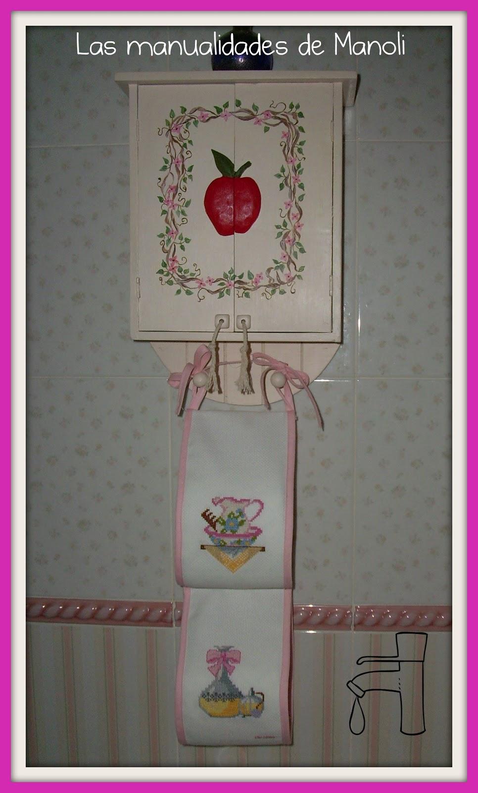 Las manualidades de Manoli: Armario para cuarto de baño