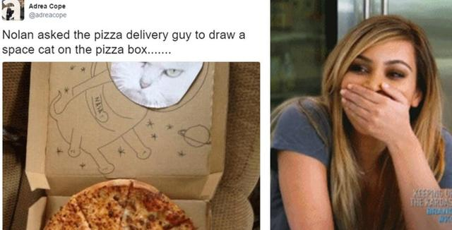 5 Hilarious Pizza Box Drawings That Delivered Way More Than People Expected