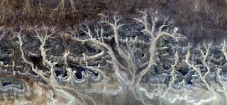 surrealismo abstracto desiertos áfrica ríos secos mares montañas piedra tierra