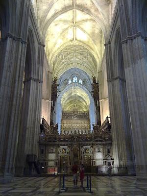 Patrimonio de la Humanidad en Europa y América del Norte. España. Catedra de Sevilla.