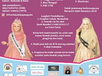 Pendaftaran Putri Hijab Lampung Selatan