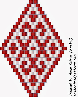 free peyote patterns beadwork beaded earrings