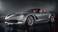 2016 New Chevrolet Edition Corvette Z06 more power front eagle view