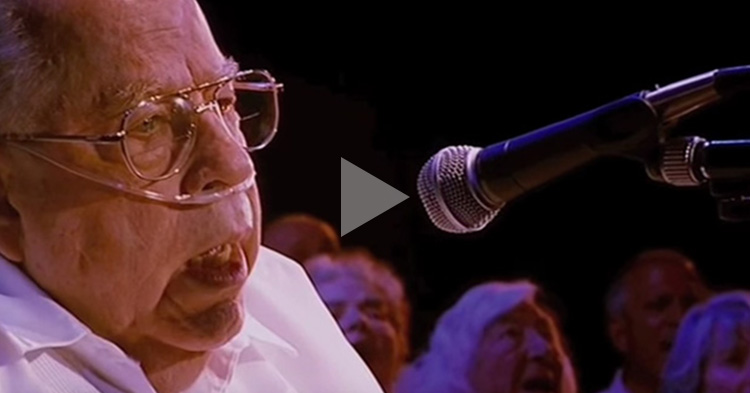 """80-year-old Man's cover of Coldplay's """"Fix You"""" will surely move you"""