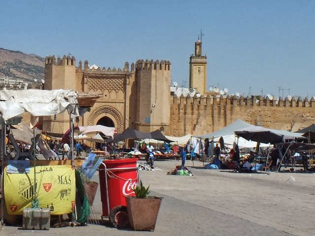 Muralla medina Fez