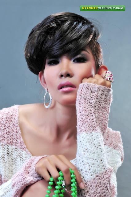 Pinn Pinn: Myanmar Hot New Face Model Girl