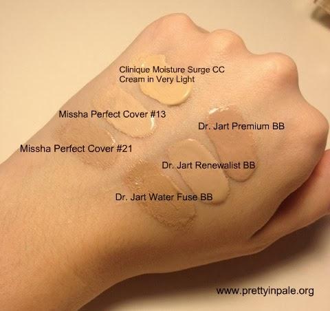 Pretty In Pale Best Bb Creams For Fair Skin Missha Dr