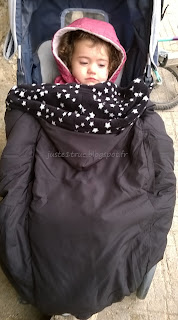 couverture portage lucky hiver froid chaud poussette porter babywearing
