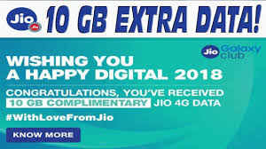 Jio's second anniversary, the user is getting free data up to 10 GB