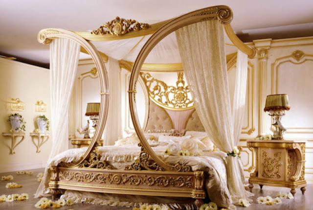 احدث غرف نوم 2020 فخمة للعرسان بالصور