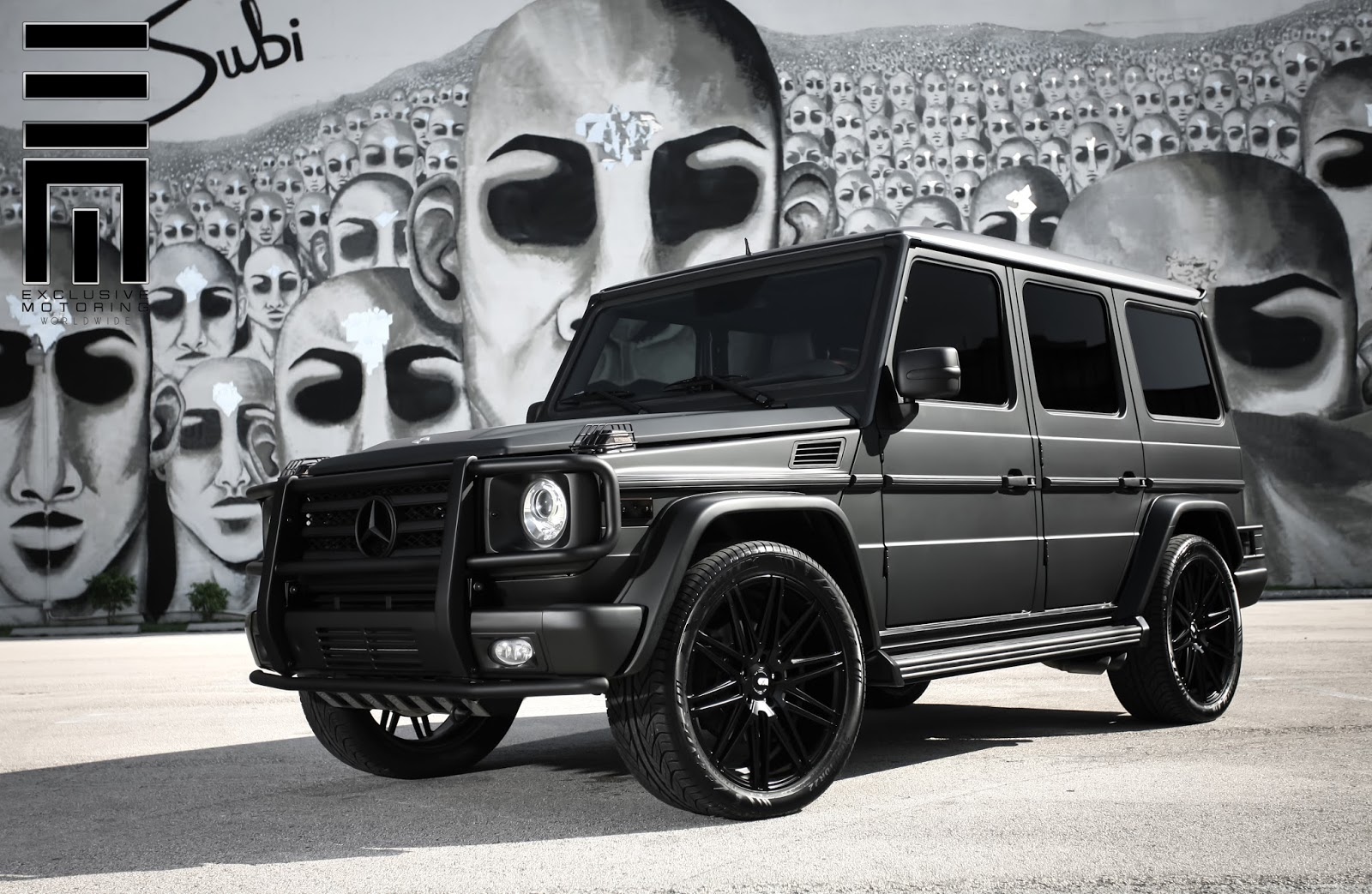 Raymond Neice Photography Exclusive Motoring Mercedes G55 AMG