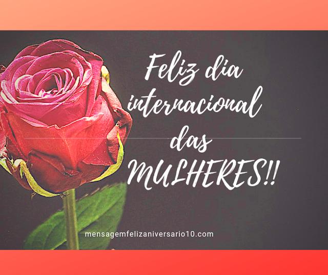 mensagem para dia internacional da mulher